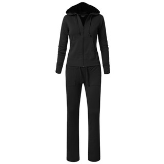 NE PEOPLE Womens Hoodie Sweatpants Set ORDER A SIZE UP [NEWWTS01] (More options available)