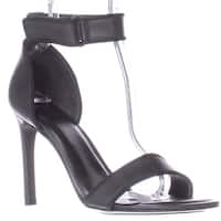 A7EIJE Jask Ankle Strap Sandals, Black Micro Dot - 9 us / 40 eu