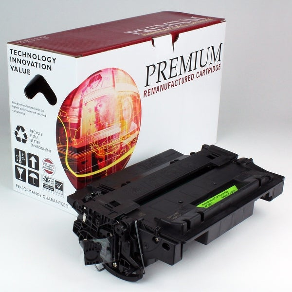 Re Premium Brand replacement for HP 55A CE255A Toner (6,000 Yield)