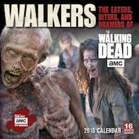 Walkers of AMC's The Walking Dead Wall Calendar, More TV by Sellers Publishing