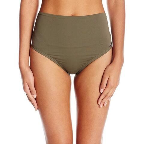 Vince Camuto Women's Convertible High Waist Bikini Bottom SZ: M