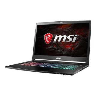 "NEW - New MSI GS73VR Pro-025 17.3"" Laptop i7-6700HQ 2.6GHz 16GB 256GB SSD+1TB W10"