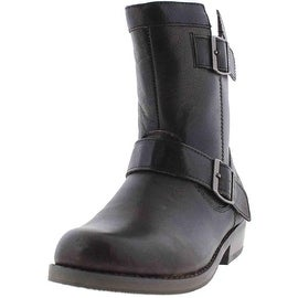 Harley-Davidson Womens Kailin Leather Ankle Motorcycle Boots - 5 medium (b,m)