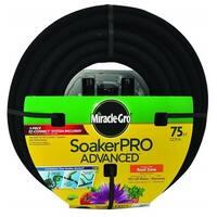 Swan Miracle Gro Soakerpro Advanced Soaker Hose 75 Feet Black MGSPA38075FM