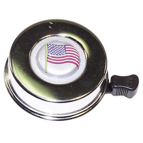 Summit American Flag Bicycle Bell