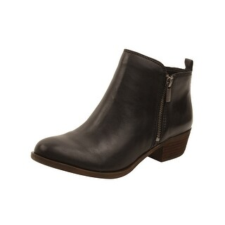 Lucky Brand Womens Basel Booties in Black (Option: 5.5)|https://ak1.ostkcdn.com/images/products/is/images/direct/cbf7fe52ea54fc0585d95f4ed99d7d827057867e/Lucky-Brand-Womens-Basel-Booties-in-Black.jpg?_ostk_perf_=percv&impolicy=medium