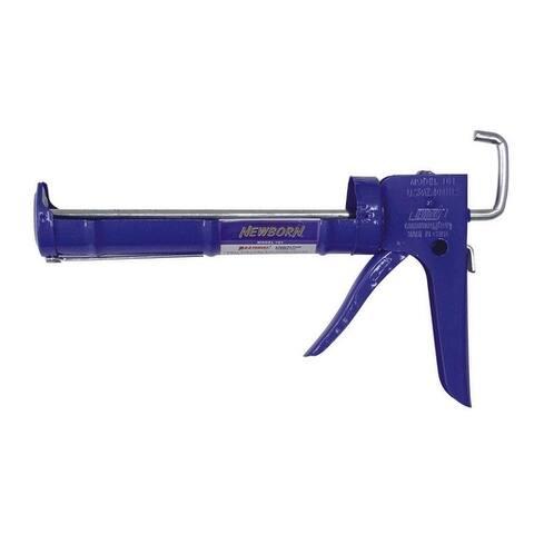 Newborn 105 Superior E-Z Thrust Smooth Rod Caulking Gun, 1/4 Gallon