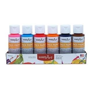 Rock Paint - Handy Art RPC882580 Washable Face Paint Kit - Pack Of 6