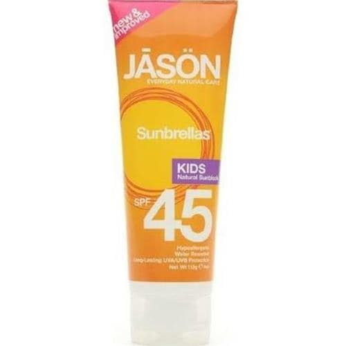 Jason Natural Products - Kids Natural Sunscreen Spf 45 ( 1 - 4 FZ)