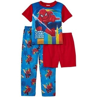 Marvel Boys 2T-4T The Ultimate Spider-Man 3-Piece Pajama Set