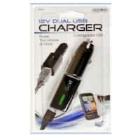 Custom Accessories 10710 Dual USB Charger, 12 Volt