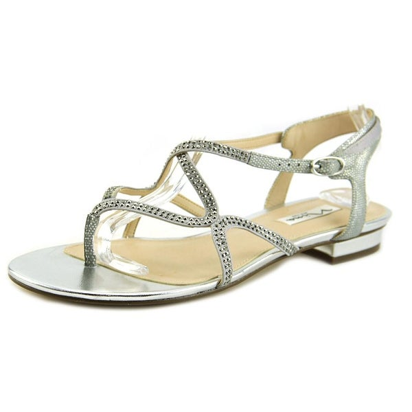 Nina Kyerra Silver Metallic Sandals