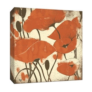 """PTM Images 9-153348  PTM Canvas Collection 12"""" x 12"""" - """"Elusive II"""" Giclee Flowers Art Print on Canvas"""