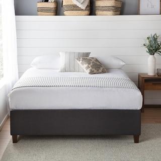 Brookside Ava Upholstered Platform Bed with Slats