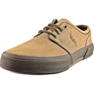 Polo Ralph Lauren Faxon Low Men Canvas Brown Fashion Sneakers