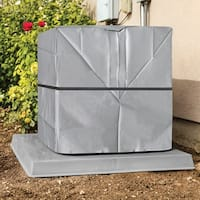 Outdoor Air Conditioner Cover - A/C Winter Weather Protector - Square - 34 in. x 34 in. x 30 in.