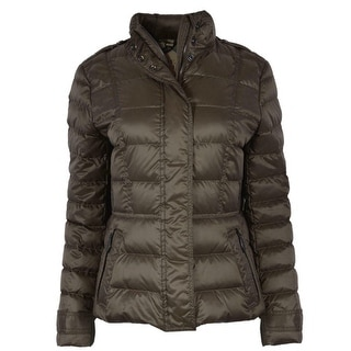 Link to Burberry Brit Women's Olive Green Dalesbury Duck Down Puffer Jacket Similar Items in Jackets