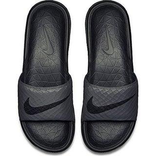 Nike Mens Benassi Solarsoft, Dark Grey/Black