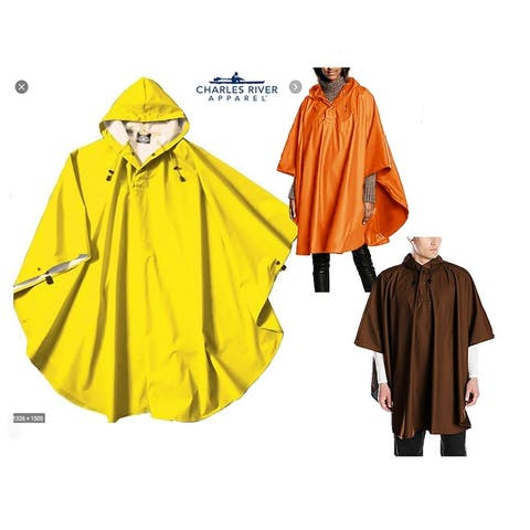 Charles River Unisex Poncho Wind and Water Resistant