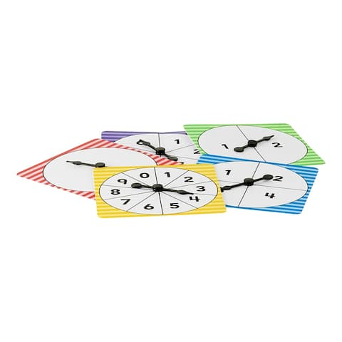 Number Spinners Pack Of 5