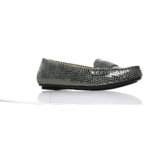 5932a722b5a Shop Vionic Womens Chill Larrun Gunmetal Snake Loafers Size 6 - Free ...