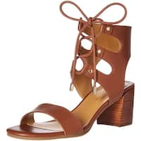 Tommy Hilfiger Womens Cache Leather Open Toe Casual Ankle Strap Sandals