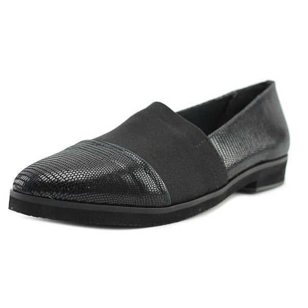Walking Cradles Bandeau Women N/S Pointed Toe Synthetic Black Loafer