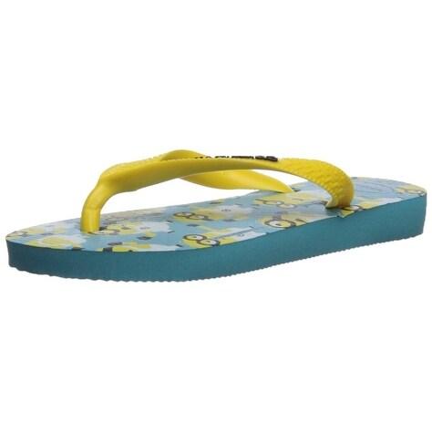 c08b8e3e1051 Shop Kids Havaianas Girls minions Slip On T-Strap Flip Flops - Free ...