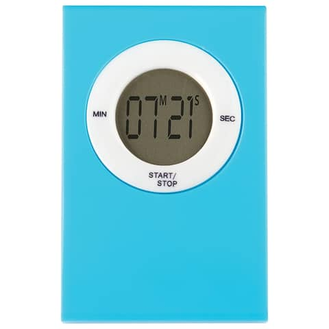 Magnetic Digital Timer Aqua
