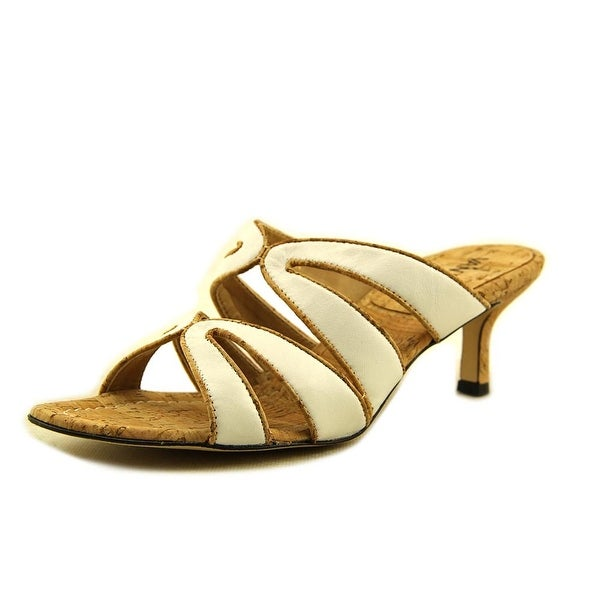 Vaneli Matilda Women N/S Open Toe Leather Sandals
