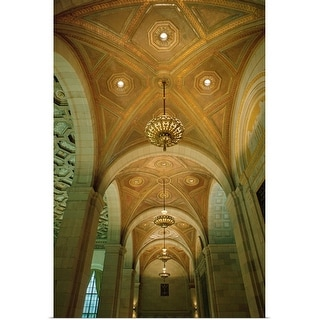 """Detail of a church ceiling"" Poster Print"