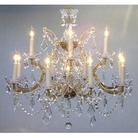 Chandelier Crystal Lighting Chandelier H22 x W28