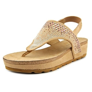 White Mountain Safari Women Open-Toe Canvas Slingback Sandal