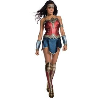 Womens Sexy Wonder Woman Secret Wishes Costume