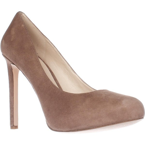 Nine West Tyler Platform Pumps, Natural Suede - 10 us
