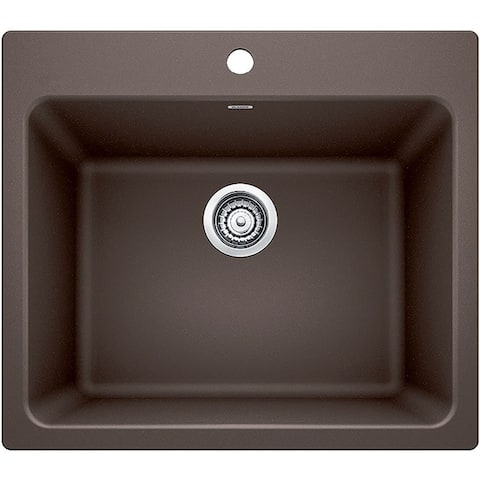 """Blanco 401922 Liven 25"""" Single Hole Drop-In or Undermount Laundry Sink"""