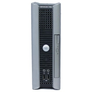 Dell OptiPlex 760 Desktop Computer USFF Intel Core 2 Duo E6550 2.33G 2GB DDR2 80G Windows 7 Pro 1 Year Warranty (Refurbished)