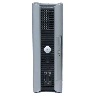 Dell OptiPlex 760 Desktop Computer USFF Intel Core 2 Duo E7600 3.0G 2GB DDR2 80G Windows 7 Pro 1 Year Warranty (Refurbished)
