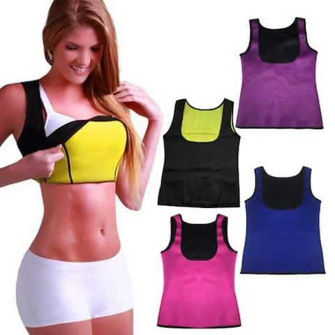 Women Neoprene Shapewear Push Up Vest Waist Trainer Tummy Belly Girdle