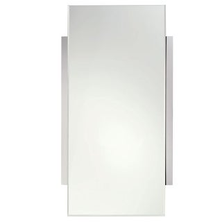 "Ginger 2841 Surface 18.3"" Rectangular Mirror with Beveled Edge"