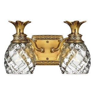 "Hinkley Lighting H5312 2 Light 13"" Width Bathroom Vanity Light from the Plantation Collection"