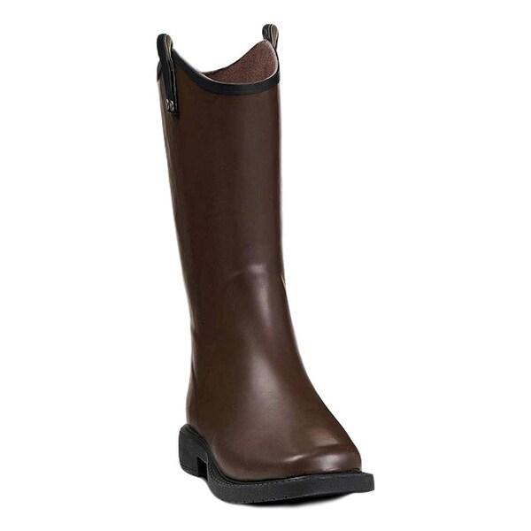 Double Barrel Western Outdoor Boots Mens Daniel Waterproof Brown