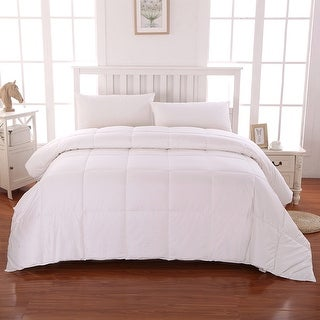 Link to Cottonpure Sustainable Cotton Hypoallergenic Comforter Similar Items in Blankets & Throws