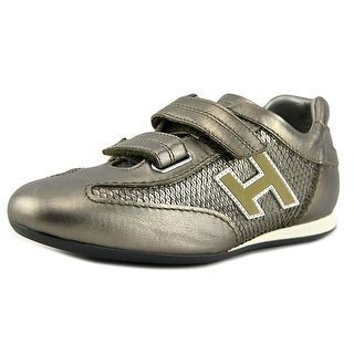 Hogan Olympia Splash Donna Round Toe Leather Sneakers