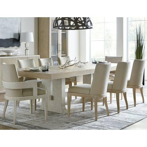 """Hooker Furniture 6120-75200-80 Cascade Modern Casual Rectangular 106"""" - Terrain Taupe"""