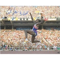 Carl Lewis signed Team USA 16x20 Photo 1992 Barcelona Olympics 9 X Gold