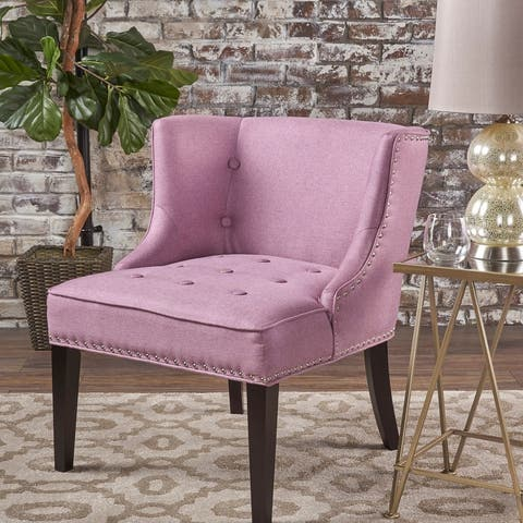 Adelina Upholstered Accent Chair by Christopher Knight Home