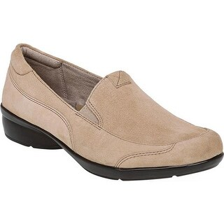 Naturalizer Women's Channing Slip-On Oatmeal Suede Leather
