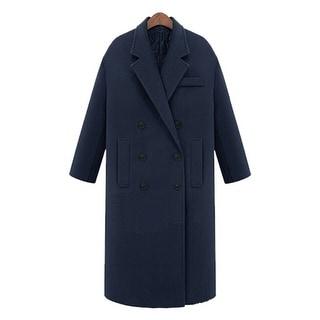 Link to Plus Cotton Cashmere Woolen Coat Similar Items in Women's Outerwear
