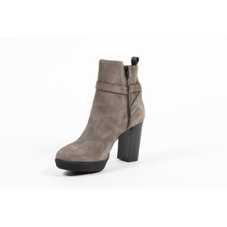 Versace 1969 V Italia Beige Suede Ankle Boot C23CT